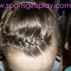 Cheerleading hairstyles