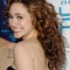 Classy curly hairstyles