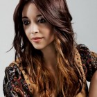 Color hairstyles for long hair
