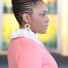 Cornrow braids hairstyles for black women