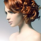 Curl hairstyles for short hair