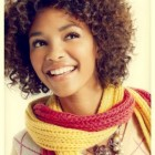 Curly hairstyles for black hair