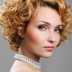 Curly hairstyles short hair women