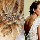 Curly wedding updos