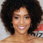 Cute short curly hairstyles for black women