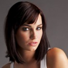 Dark medium length hairstyles