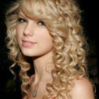 Different curly hairstyles for long hair