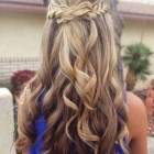 Down prom hairstyles 2015