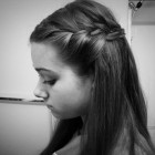 Easy french braid hairstyles