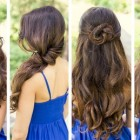 Easy hairstyle for long hairs