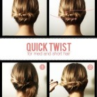 Easy hairstyle tutorials
