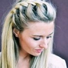 Elegant braided hairstyles
