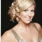 Evening hairstyles for short hair