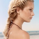 Fish braid hairstyles