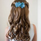 Flower girl hairstyles for long hair