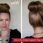 Hair bun styles for long hair