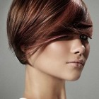 Hair colors for short hair styles for women