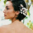 Hair flowers wedding