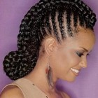 Hair styles for braids