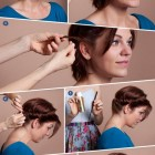 Hair styling for short hair