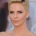 Hairstyle for a short hair