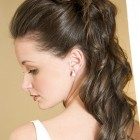 Hairstyle for wedding guest