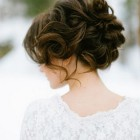 Hairstyle of bride