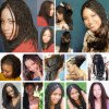 Hairstyles for braided hair
