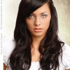 Hairstyles for long dark hair