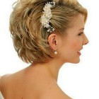 Hairstyles for short hair for weddings