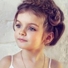 Kids wedding hair