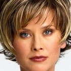 Latest short haircut for women 2014