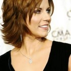 Layered hairstyles for short to medium length hair