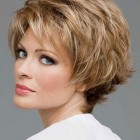 Layered short haircuts for women