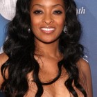 Long black hairstyles for women