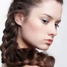 Long braided hair