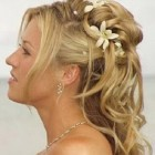 Long hair bridal hairstyles