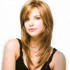 Long hairstyles for women with round faces