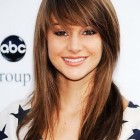 Long hairstyles with bangs 2015