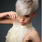 Long short haircuts for women
