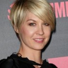 Longer pixie haircut