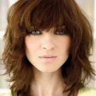 Medium fringe hairstyles