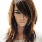 Medium hairstyles with long layers