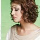Medium layered curly hairstyles