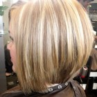Medium length stacked hairstyles