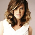 Medium length trendy hairstyles
