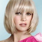 Medium short hairstyles for women