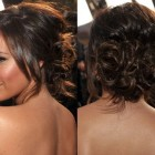 Messy bun prom hairstyles