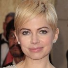 Michelle williams short haircut