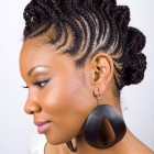 Natural black hairstyles for short hair